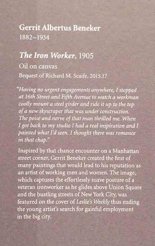The Iron Worker info tag